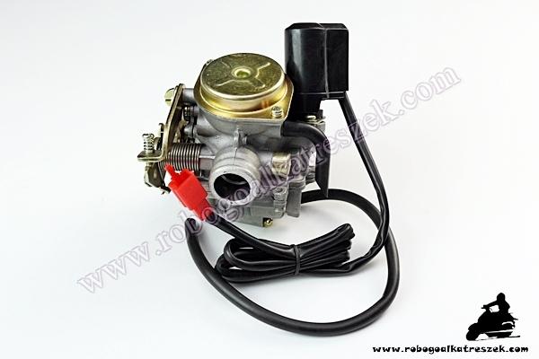 Karburátor 4T 50ccm, 4 ütemű kínai robogóhoz