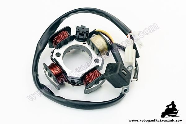 Gyújtás alaplap állórész Suzuki Sepia / Adress 84mm 4 tekercses