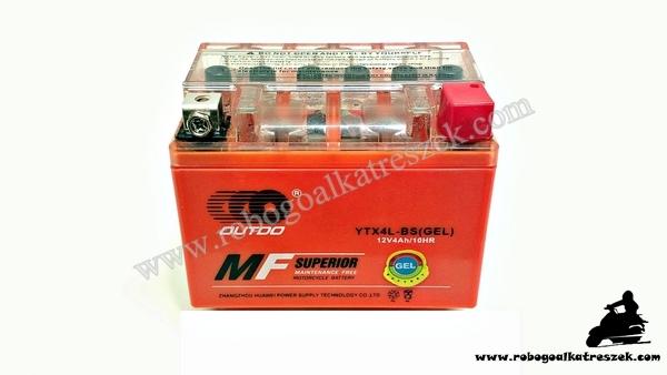 Akkumulátor 12V 4AH