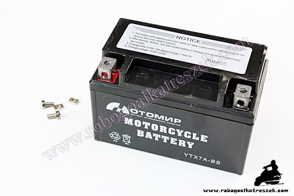 Akkumulátor 12V 7AH