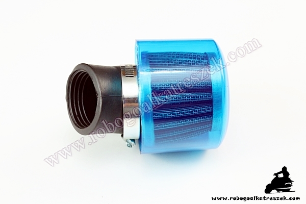 Levegőszűrő Sport vízhatlan 39mm 45 fokos A10008