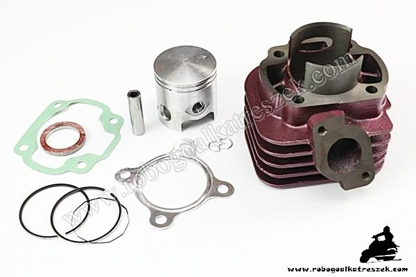 Hengerszett Yamaha 3KJ,APRILIA,MALAGUTI 70ccm 47mm 10-es csapszeg (fekvőhenger)