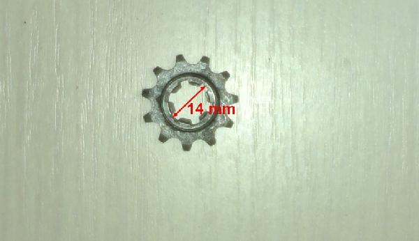 Lánckerék első 11 fogas (vastag lánchoz) Pocket Bike