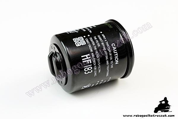Olajszűrő HF183 APRILIA / DERBI / PIAGGIO / GILERA / MALAGUTI / PEUGEOT - </b>Nincs készleten