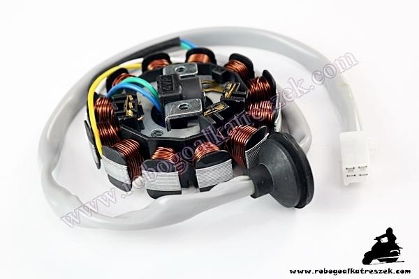"""Gyújtásalaplap állórész MBK Booster """"04     RV-03-01-07"""