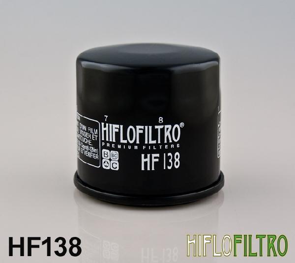 Olajszűrő HF138 APRILIA / ARCTIC CAT / CAGIVA / SACHS / SUZUKI
