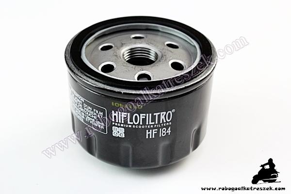Olajszűrő HF184 APRILIA / GILERA / MALAGUTI / PEUGEOT / PIAGGIO
