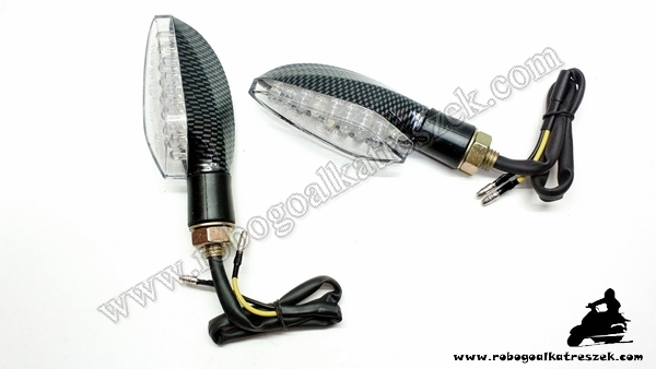 Index LED-es Karbon V. RV-03-11-11