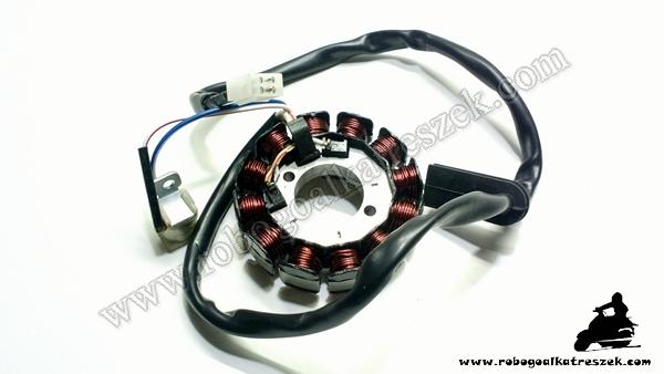 Gyújtás alaplap állórész APRILIA MX50 / BETA RR / AM6 2007   RV-03-01-19