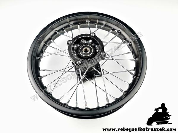 """Kerék hátsó 12"""" Dirt Bike 100mm / 90mm"""