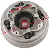 Kuplung 110-125ccm váltós (2 lamellás / 18 fogas)
