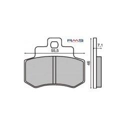 Fékbetét KYMCO DINK 250ccm RMS 0510