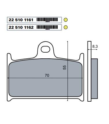 Fékbetét SUZUKI RF 900ccm RMS 3030