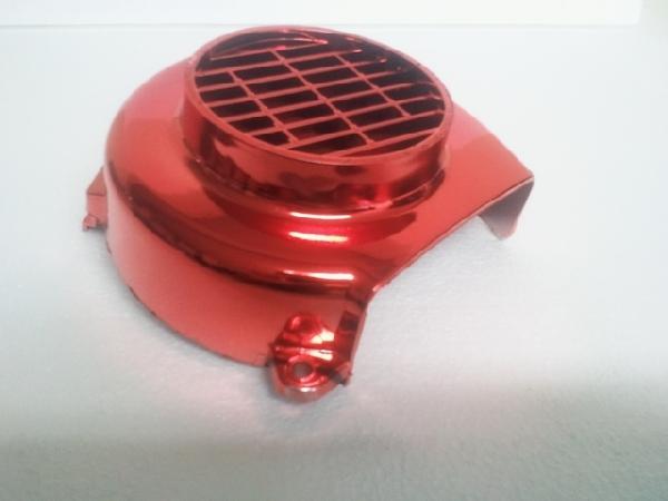 Ventillátor burkolat PUGEOT piros