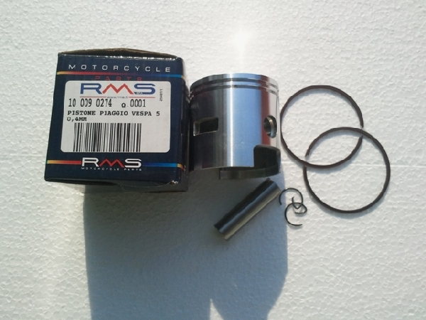 Dugattyúszett Piaggio Vespa 125ccm 50.40mm 2T RMS 0274