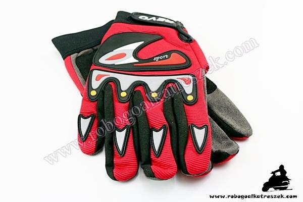 Kesztyű REVO XL-es piros