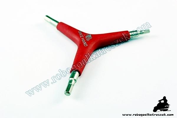 Imbusz kulcs Y 4/5/6 mm