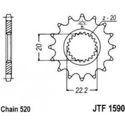 Lánckerék első JTF1590SC 520 14 fogas