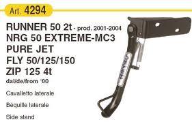 Oldaltámasz Gilera Runner - Piaggio NRG Extreme RMS 0310