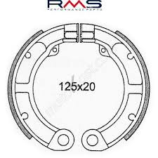 Fékpofa 125x20 Piaggio Vespa 50ccm RMS 0490