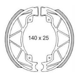 Fékpofa 140X25 Piaggio Liberty 125ccm RMS 0420 / 0421