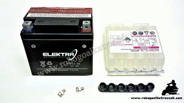 Akkumulátor ELEKTRA 12V 6AH YTZ7S-BS RMS 0190