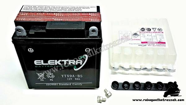 Akkumulátor ELEKTRA 8AH YTX9-BS RMS 0090