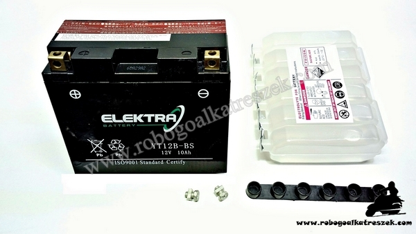 Akkumulátor ELEKTRA 12V 10AH YT12B-BS RMS 0120