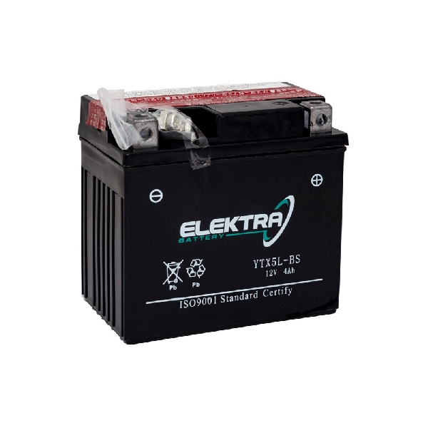 Akkumulátor ELEKTRA  4AH (5AH) YTX5L-BS RMS 0040