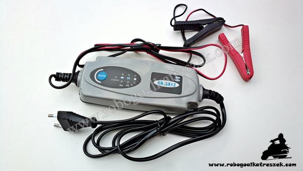 Akkumulátor töltő 12V 3.2A HB-5A12