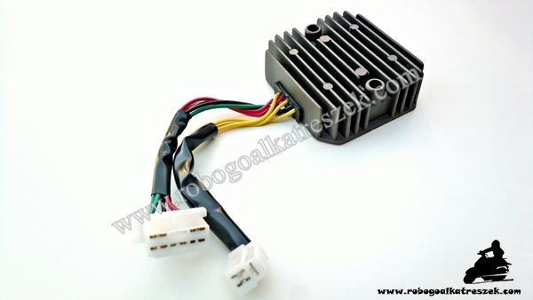 Feszültség szabályzó ATV / QUAD 8 vezetékes