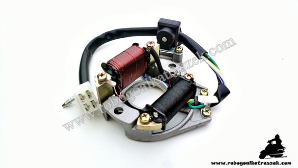 Gyújtás alaplap állórész MOPED / ATV / QUAD tip 3  - 5 vezetékes