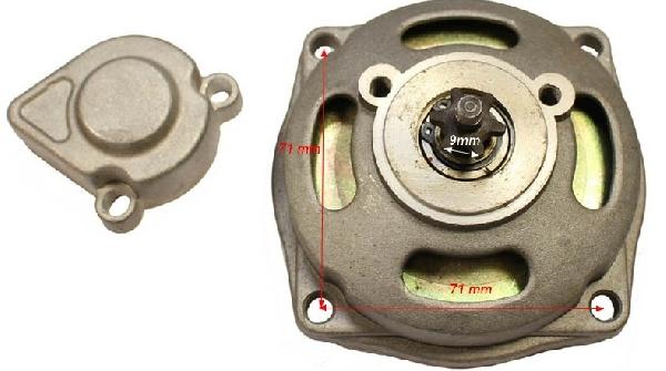 Kuplungharang Pocket Bike 6 fogas - vastag lánchoz