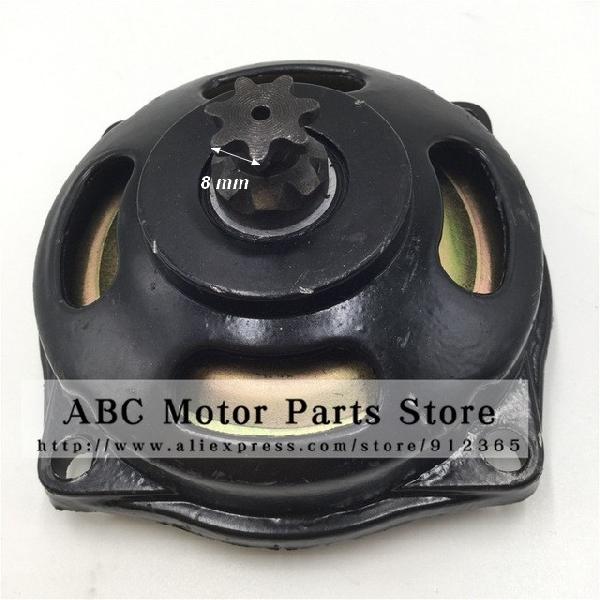 Kuplung harang Pocket Bike 7 fogas - vastag lánchoz