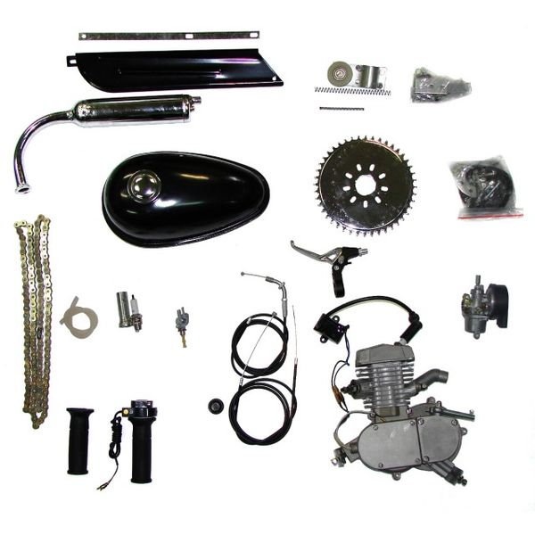 Kerékpárra szerelhető dongó motor szett 80ccm