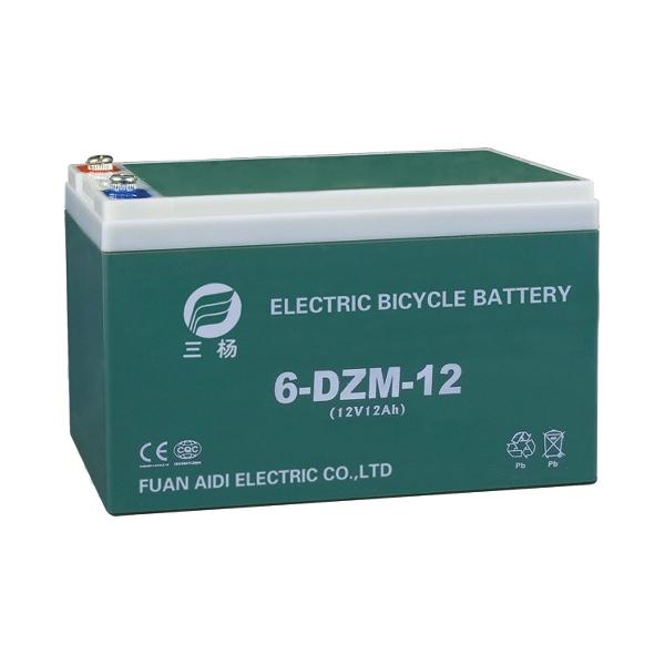 12V 12Ah elektromos kerékpár akkumulátor (6-DZM-12)