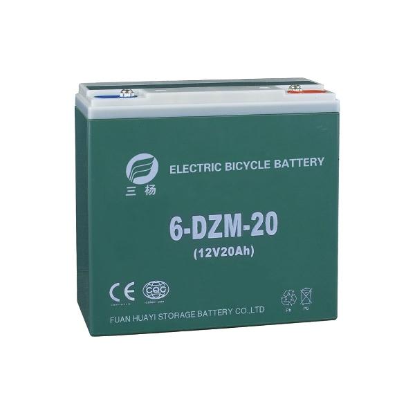 12V 20Ah elektromos kerékpár akkumulátor (6-DZM-20)