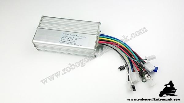 Motorvezérlő elektronika 24V 500W (HALL) - elektromos kerékpárhoz