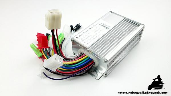 Motorvezérlő elektronika 48V 350W (HALL) - elektromos kerékpárhoz