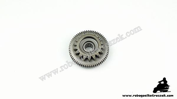 Önindító közlő fogaskerék Yamaha / Aprilia 18 FOGAS 8.1MM HK810