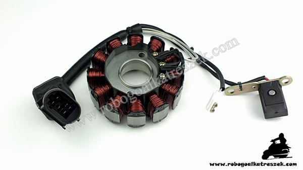 Gyújtás alaplap Piaggio 125 / 200ccm