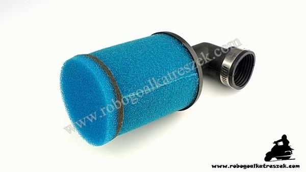 Levegőszűrő sport 35mm 90 fokos (339)